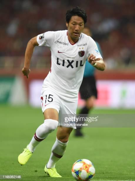 Sho Ito of Kashima Antlers in action during the JLeague J1 match between Urawa Red Diamonds and Kashima Antlers at Saitama Stadium on July 31 2019 in...