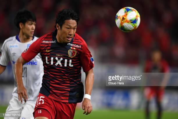 Sho Ito of Kashima Antlers in action during the JLeague J1 match between Kashima Antlers and Gamba Osaka at Kashima Soccer Stadium on August 23 2019...