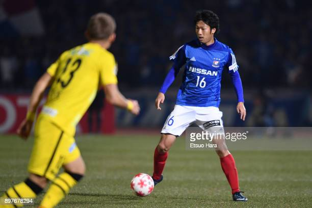 Sho Ito of Yokohama FMarinos in action during the 97th Emperor's Cup semi final match between Yokohama FMarinos and Kashiwa Reysol at Todoroki...