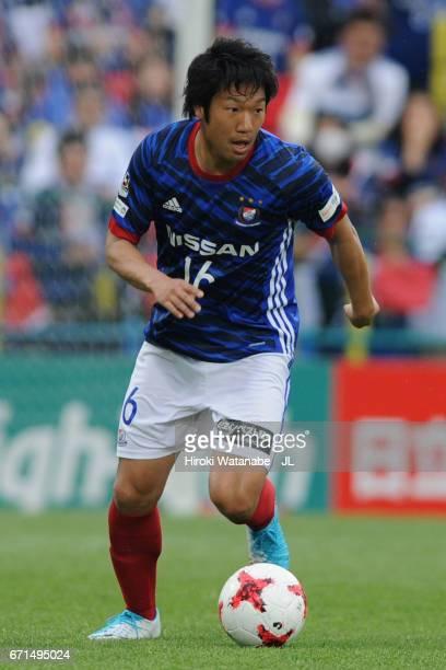 Sho Ito of Yokohama FMarinos in action during the JLeague J1 match between Kashiwa Reysol and Yokohama FMarinos at Hitachi Kashiwa Soccer Stadium on...