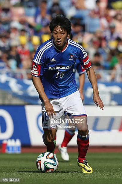 Sho Ito of Yokohama FMarinos in action during the JLeague match between Yokohama FMarinos and Sagan Tosu at Nissan Stadium on May 10 2014 in Yokohama...