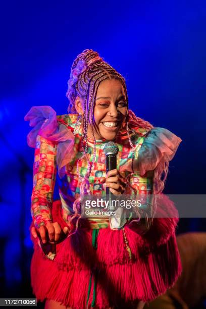 Sho Madjozi South African rapper singer songwriter actress and poet performed at The Homecoming Africa Festival on Saturday 28 Oct 2019 The festival...