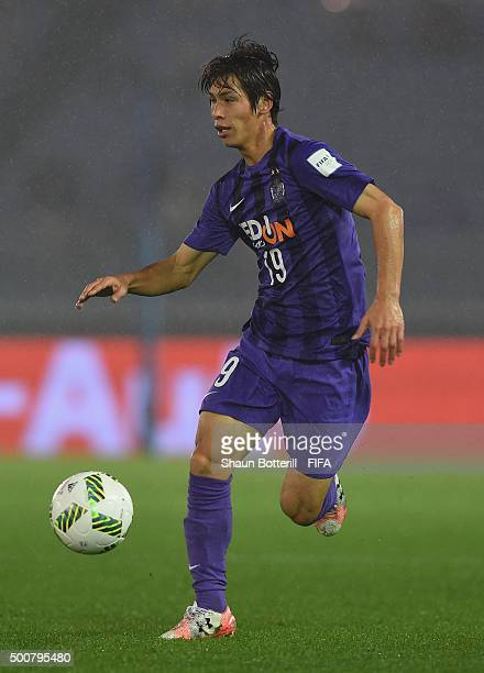 Sho Sasaki of Sanfrecce Hiroshima during the FIFA Club World Cup: Play-off match for the quarter final between Sanfrecce Hiroshima and Auckland City...