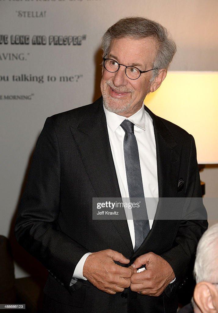 Shoah Foundation Honorary Chair Steven Spielberg attends USC Shoah Foundation's 20th Anniversary Gala at the Hyatt Regency Century Plaza on May 7, 2014 in Century City, California.