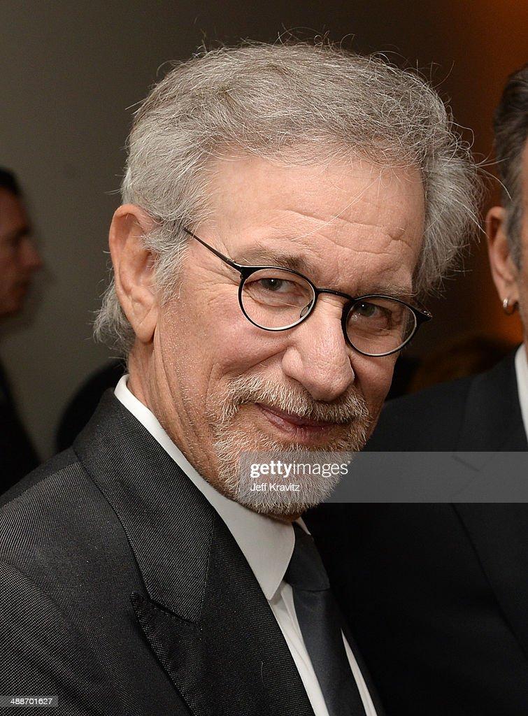 Shoah Foundation Honorary Chair Steven Spielberg attends USC Shoah Foundation's 20th Anniversary Gala at the Hyatt Regency Century Plaza on May 7, 2014 in Century City, California
