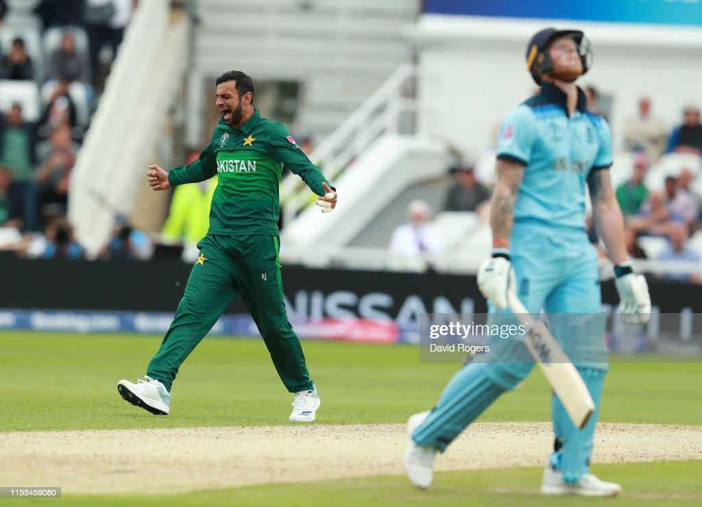 England v Pakistan - ICC Cricket World Cup 2019 : News Photo