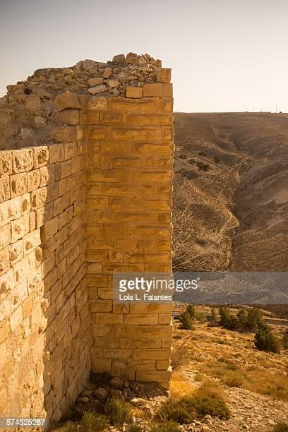 Shobak's castle wall