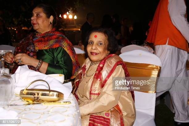 Shobha Deepak Singh during the fundraiser for Lepra India Trust at the residence of the British High Commissioner Sir Dominic Asquith at 2 Rajaji...