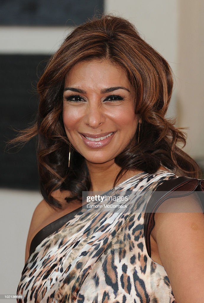 Shobna Gulati attends the TV Now Awards on May 22, 2010 in Dublin, Ireland.