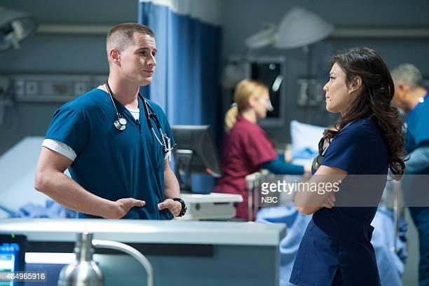 SHIFT Shock to the Heart Episode 204 Pictured Brendan Fehr as Drew Alister Jeananne Goossen as Krista BellHart