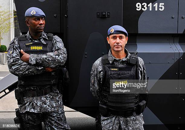 Shock troops of military police of the State of São Paulo
