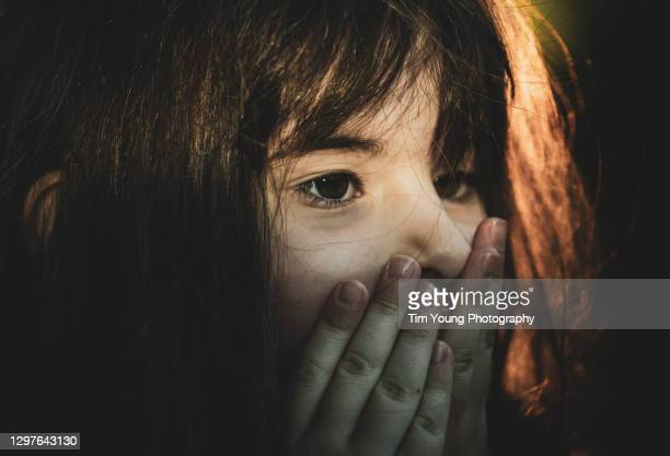 shocked girl - human face stock pictures, royalty-free photos & images