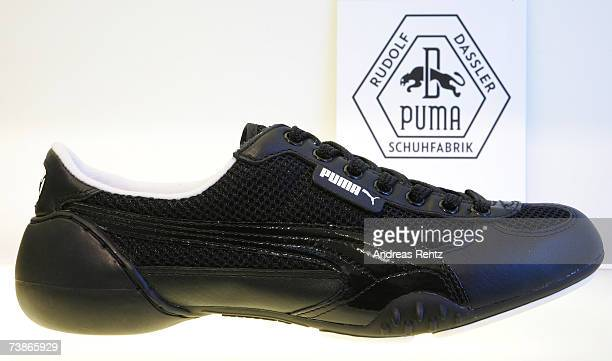 Shoe design by German sporting goods giant Puma seen on April 12, 2007 in Berlin, Germany. French luxury goods company Pinault-Printemps-Redoute has...
