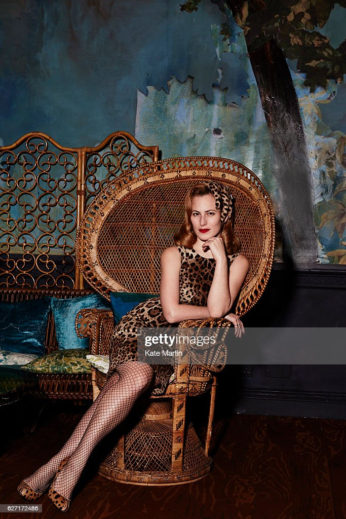 Shoe designer Charlotte Olympia is photographed on January 23, 2015 in London, England.