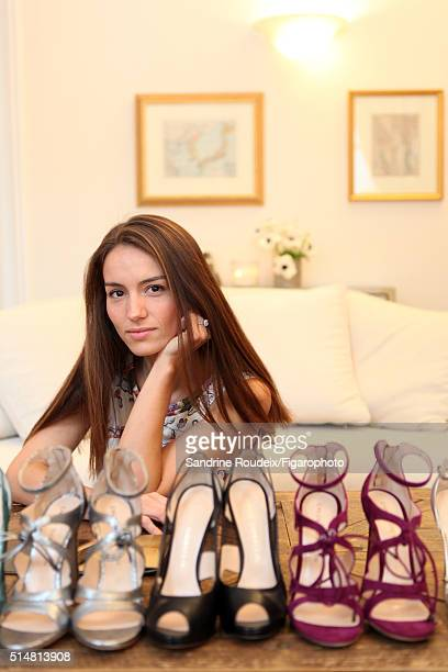 Shoe designer Chloe Gosselin is photographed for Madame Figaro on March 9 2015 in Paris France CREDIT MUST READ Sandrine Roudeix/Figarophoto/Contour...
