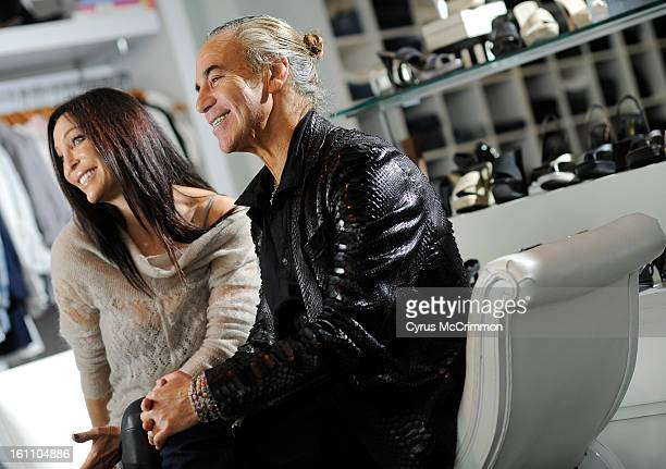 Shoe designer Donald Pliner and his wife Lisa Pliner visited Garbarini's store in North Cherry Creek on Wednesday, March 24, 2010. Cyrus McCrimmon,...