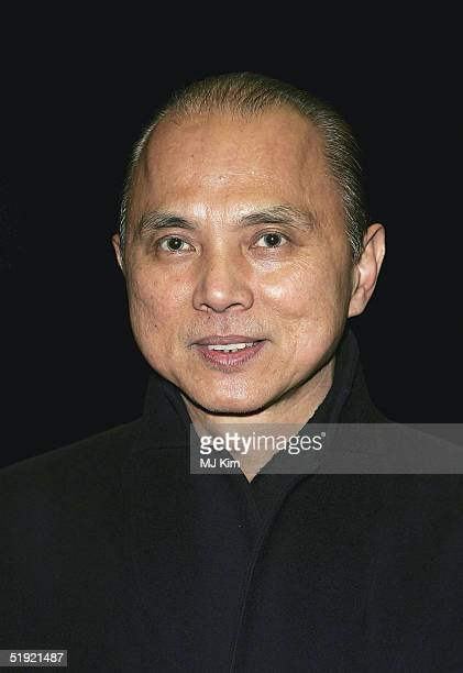 """Shoe designer Jimmy Choo arrives at the UK Gala Premiere of """"Closer"""" at the Curzon Mayfair Cinema on January 6, 2005 in London."""