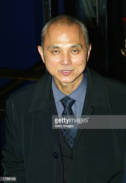 Shoe Designer Jimmy Choo attends the premier of the new film 'About Schmidt' starring Jack Nicholson at the Warner Bros Leicester Square cinema on...
