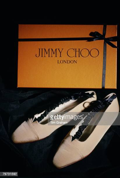 Shoe designer Jimmy Choo designed these shoes chosen by Princess Diana