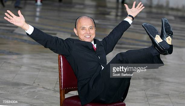 Shoe designer Jimmy Choo poses after receiving the Freedom of the City of London award November 14, 2006 in London, England. Dating as far back as...