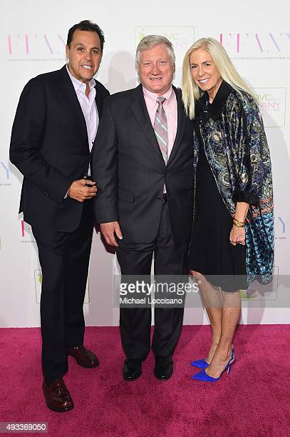 ada66e12fe6b54 Shoe designer Sam Edelman FFANY President CEO Ron Fromm and Libby Edelman  attend QVC presents