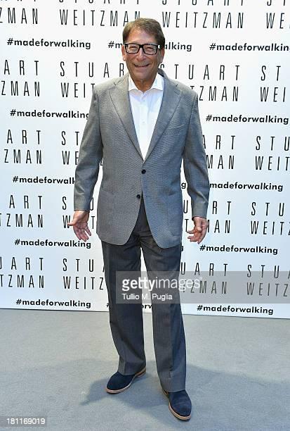 Shoe designer Stuart Weitzman attends the Kate Moss Celebrates Stuart Weitzman Flagship Store Opening Designed By Zaha Hadid as a part of Milan...