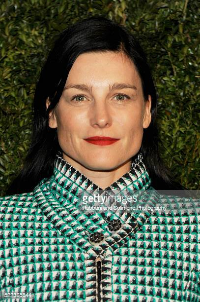 Shoe designer Tabitha Simmons attends 11th Annual Chanel Tribeca Film Festival Artists Dinner at Balthazar on April 18 2016 in New York City