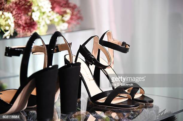 Shoe detail at the Chloe Gosselin Presentation during MADE Fashion Week September 2016 at Milk Studios on September 11 2016 in New York City