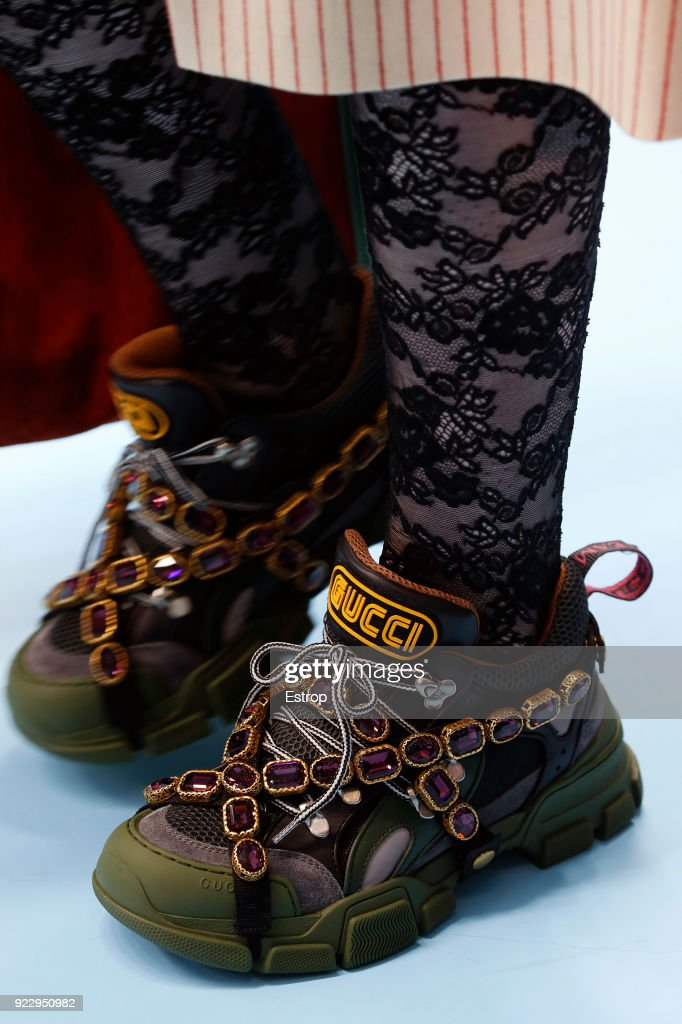 Gucci - Details - Milan Fashion Week Fall/Winter 2018/19 : News Photo