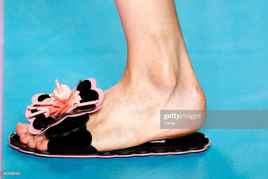 Miu Miu : Details - Paris Fashion Week Womenswear Spring/Summer 2017 : News Photo