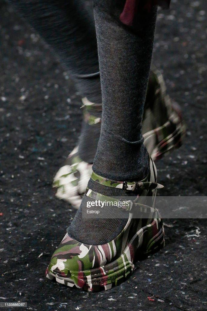 Miu Miu : Details - Paris Fashion Week Womenswear Fall/Winter 2019/2020 : News Photo