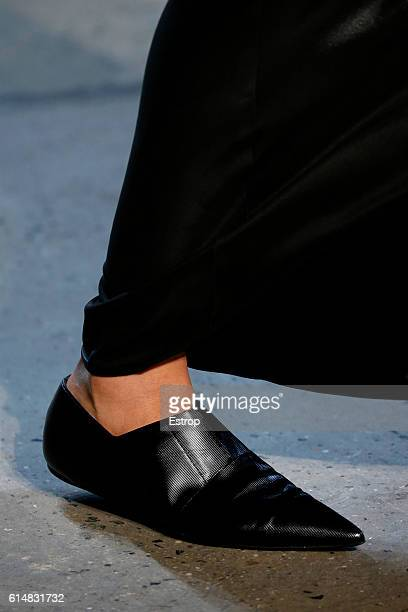 Shoe detail at the Narciso Rodriguez show at SIR Stage37 on September 13 2016 in New York City