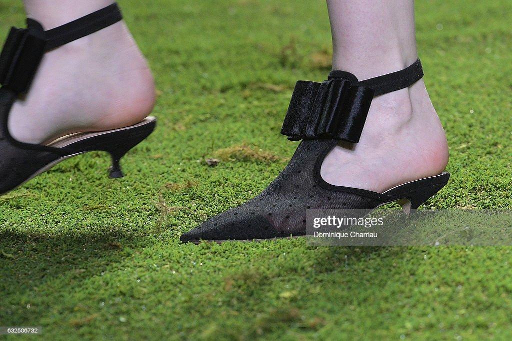 Christian Dior: Runway - Paris Fashion Week - Haute Couture Spring Summer 2017 : News Photo