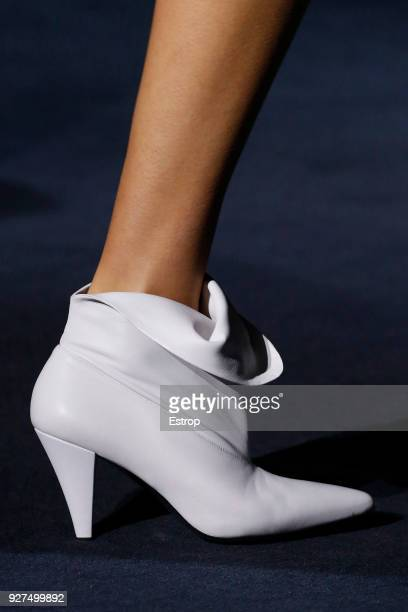 Shoe detail during the Givenchy show as part of the Paris Fashion Week Womenswear Fall/Winter 2018/2019 on March 3 2018 in Paris France