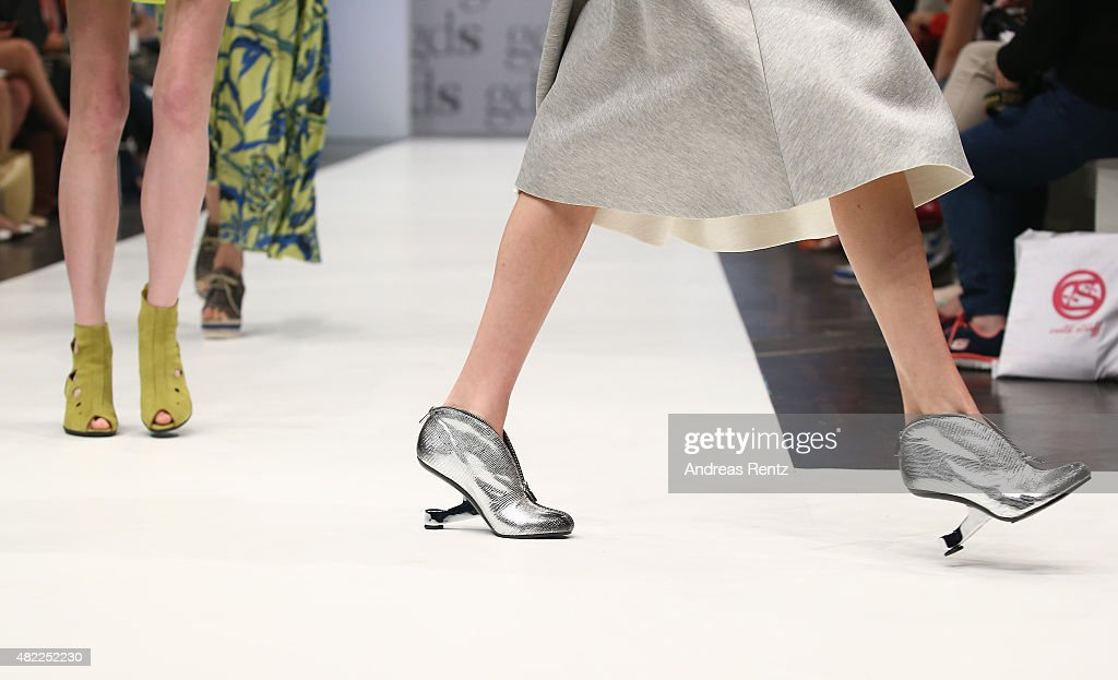 A Shoe Detail Is Pictured During The Soft Modern Show On The First News Photo Getty Images