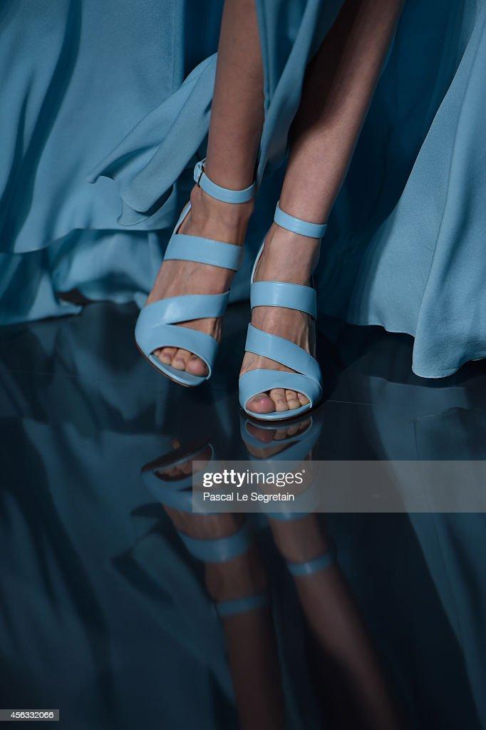 Elie Saab : Runway - Paris Fashion Week Womenswear Spring/Summer 2015 : News Photo