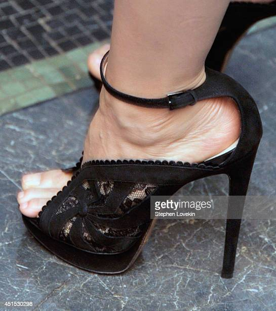 A shoe detail of actress Lucy Liu at the 2014 Ignite Gala benefiting BAM Education at BAM Howard Gilman Opera House on June 30 2014 in New York City
