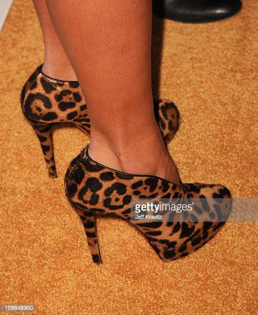 Shoe detail of Coco at the COMEDY CENTRAL Roast of Donald Trump at the Hammerstein Ballroom on March 9 2011 in New York City