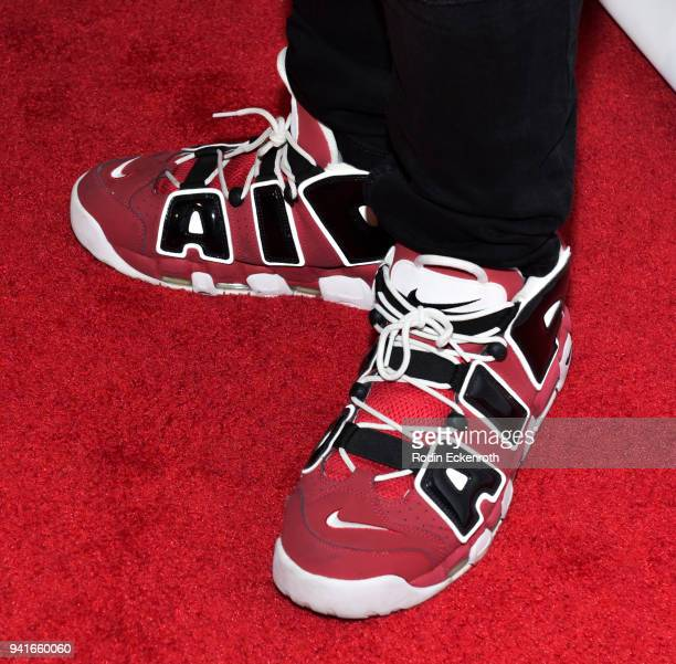 Shoe fashion detail Kris D Lofton attends Regard Magazine Spring 2018 Cover Unveiling Party presented by Sony Studios featuring the cast of 'The...