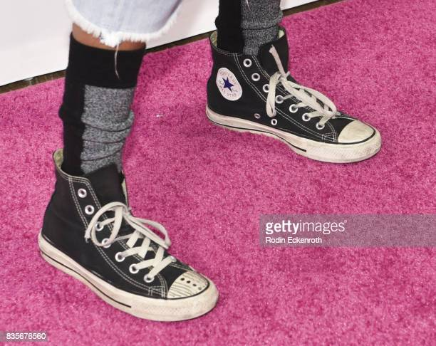 Shoe fashion detail singer Willow Smith attends NYX Professional Makeup's 6th Annual FACE Awards at The Shrine Auditorium on August 19 2017 in Los...