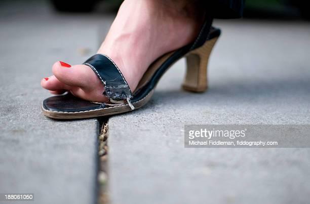 Shoe malfunction