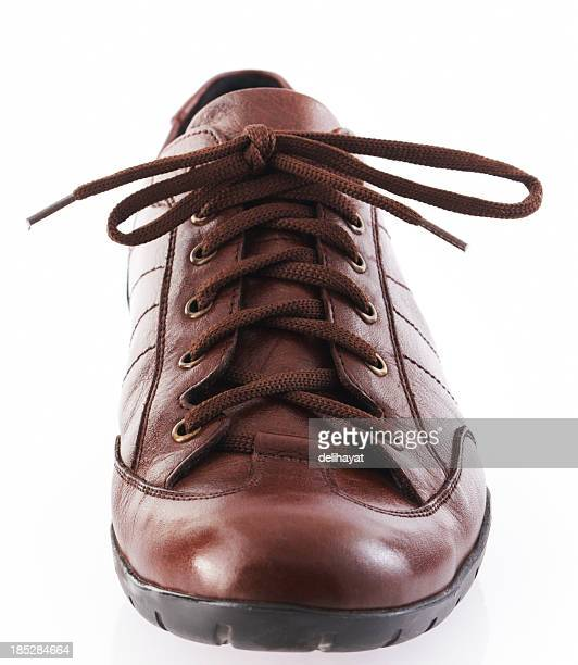 shoe - brown shoe stock pictures, royalty-free photos & images