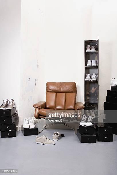 Shoe shop interior