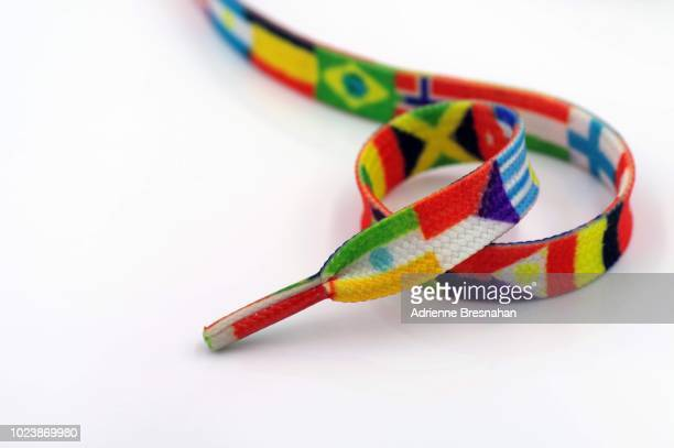 Shoelace of World Flags