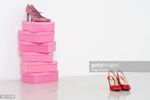 Shoes and shoebox