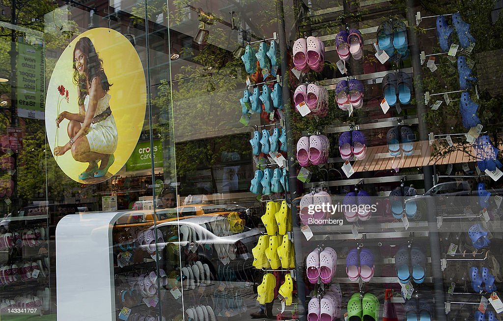 2e17ef47a General Views of a Crocs Store Ahead of Earnings Release   News Photo