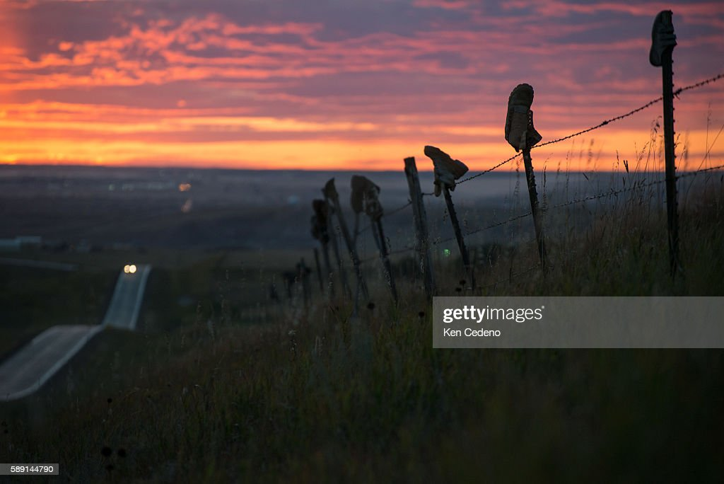 USA-Bakken-Agriculture-Energy : News Photo