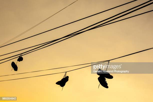 shoes at sunset, mexico - drug cartel stock pictures, royalty-free photos & images