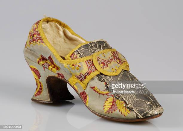 Shoes, British, 1760-80. Artist Unknown.