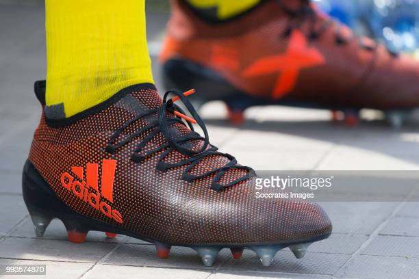 shoes during the Club Friendly match between vv 't Fean '58 v FC Groningen at the Sportpark It Ketting on July 7 2018 in Surhuisterveen Netherlands